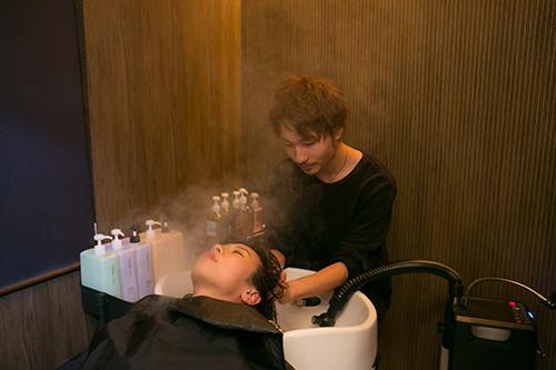 8.髪のプロがヘッドスパで頭皮を健康的に健やかに